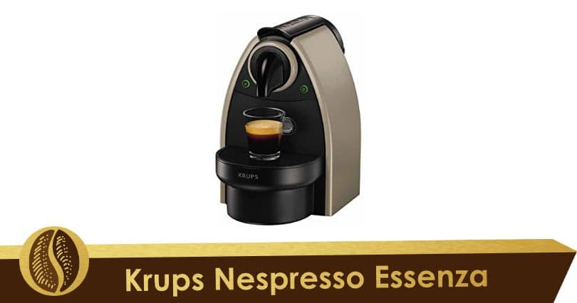 Efficiency and robustness with Krups Nespresso Essenza