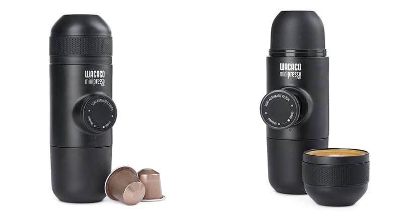 Minipresso NS, the Nespresso portable machine
