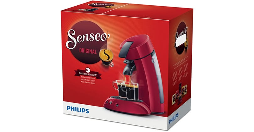 Unique and economical the Original Senseo from Philips