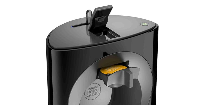 Urban and manual, the Dolce Gusto Oblo