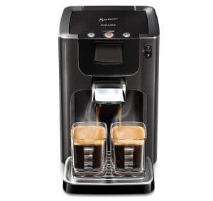 philips hd7866/21 senseo machine a café à dosettes gris cachemire