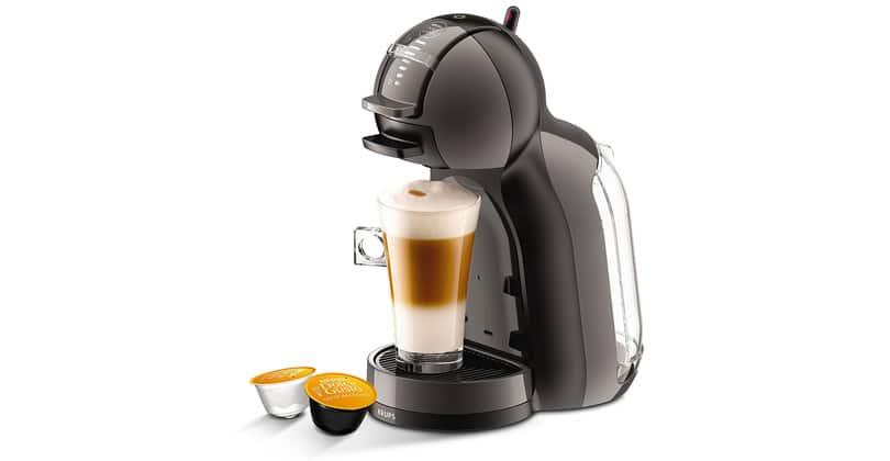 Nescafe Dolce Gusto Mini Me Nescafé is round and round