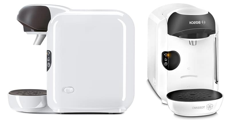 Small and automatic, the Bosch Tassimo Vivy White