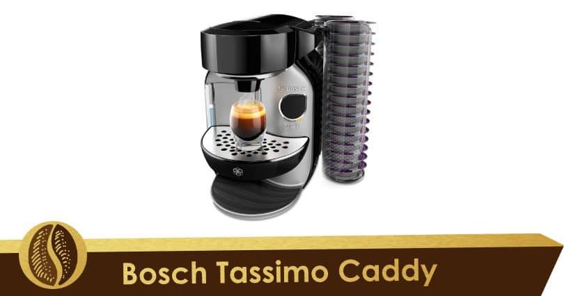 Discreet and environmentally friendly, the Bosch Tassimo Caddy