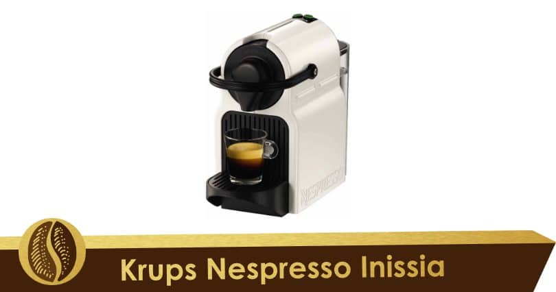 Small and colourful, the Krups Nespresso Inissia