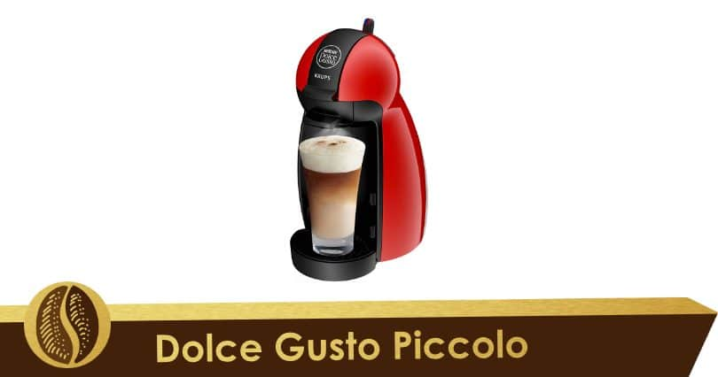 Compact and manual, the Nescafé Dolce Gusto Piccolo