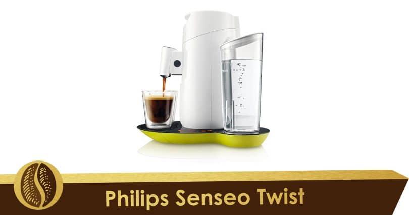 Tactile and futuristic, the Senseo Twist