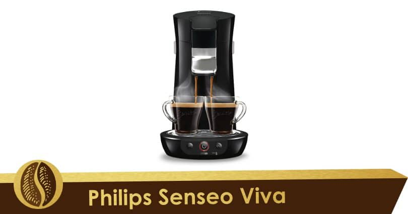 For large cups, the black Senseo Viva