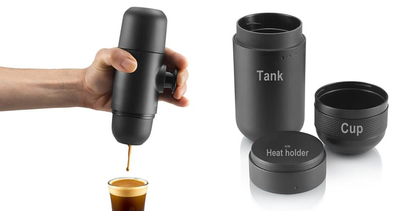 Compact and mobile the Minipresso GR