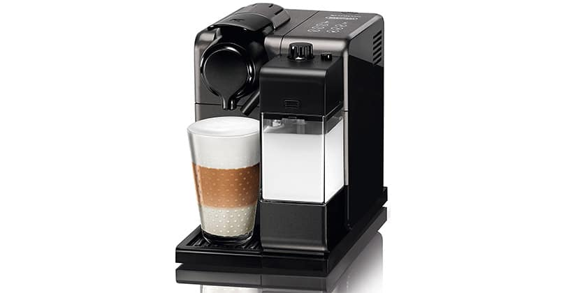 Delonghi Nespresso Lattissima Touch with its milk emulsifier