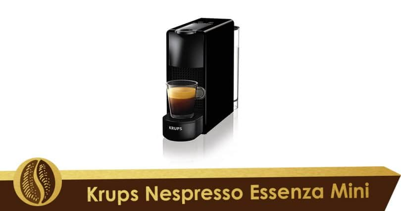 Minimalism with Krups Nespresso Essenza Mini