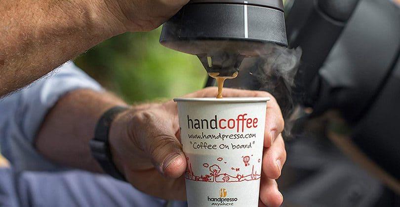 machine à café pour voiture