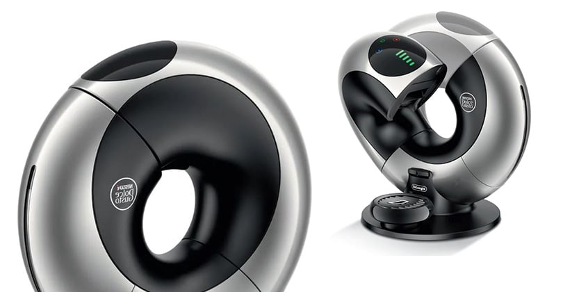 DeLonghi Nescafé Dolce Gusto Eclipse, futuristic and automatic