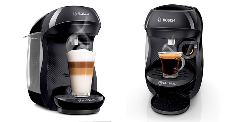 Bosch Tassimo Happy TAS1002 black, basic and efficient
