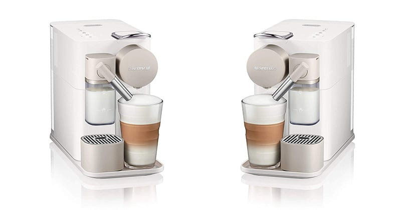 Nespresso Lattissima One, discretion and elegance