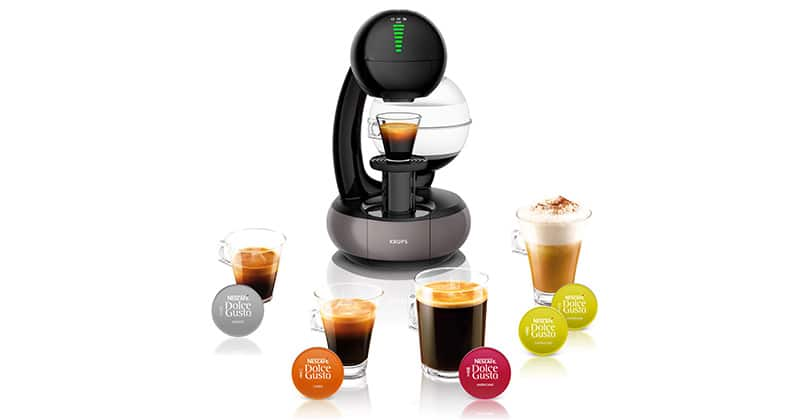 Krups Nescafé Dolce Gusto Esperta, space coffeemaker