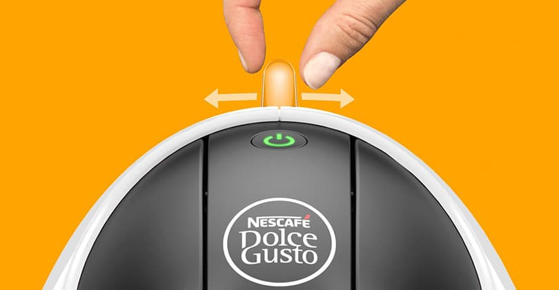 From Longhi Dolce Gusto Jovia, futuristic and compact