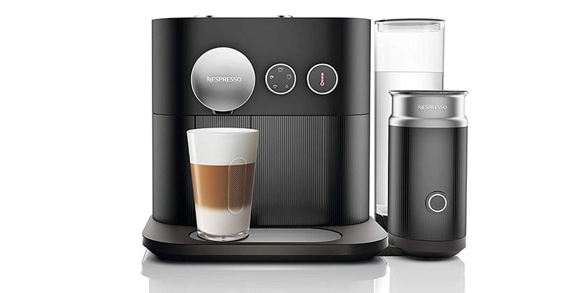 Nespresso Expert & Milk, imposing and professional